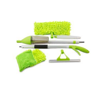 Швабра с распылителем и насадкой для мытья окон, фото 7