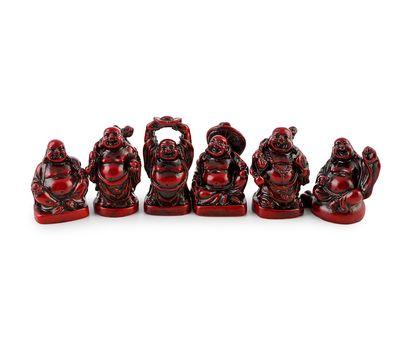 Набор Хотей - смеющийся Будда (6 шт), фото 1